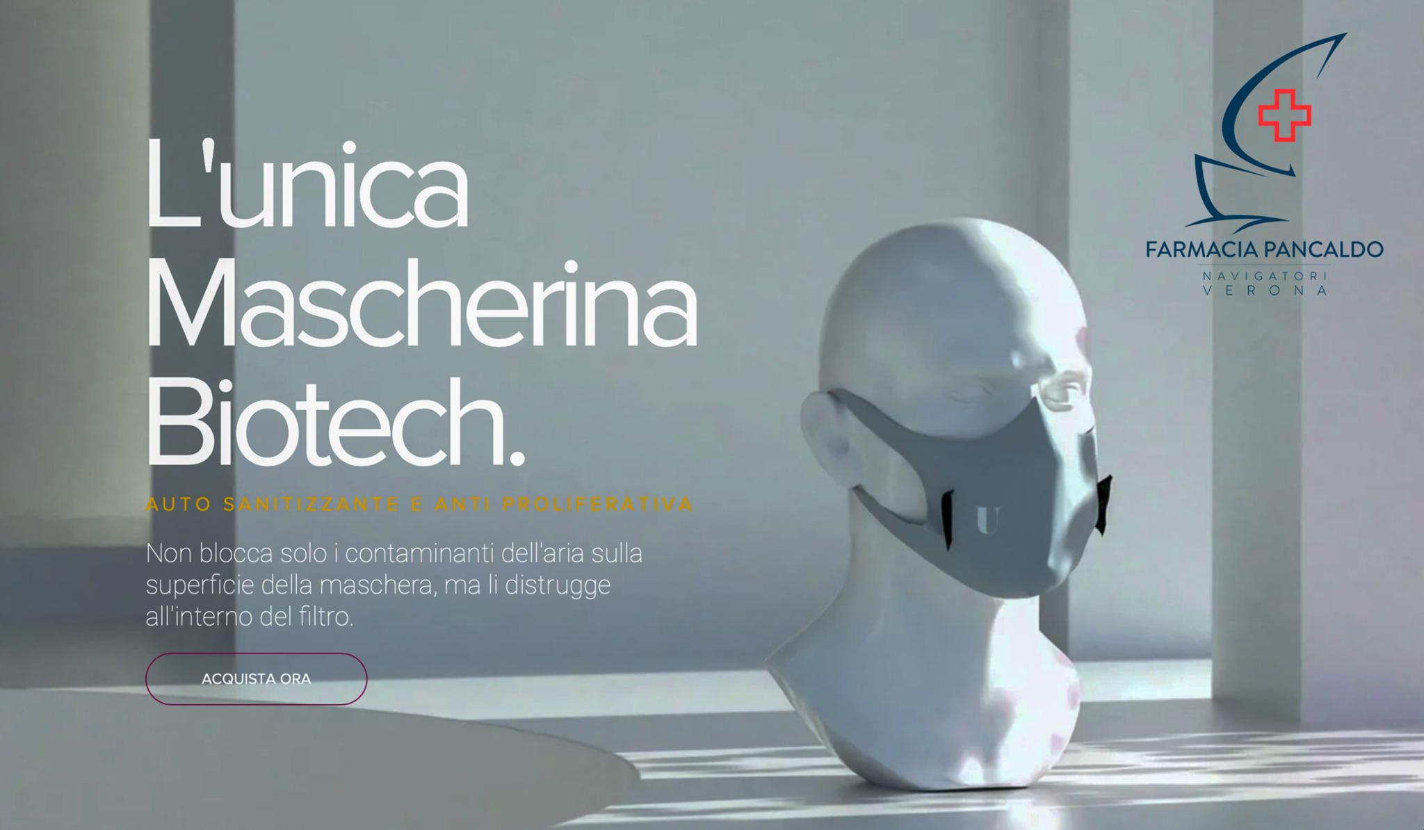 Sono arrivate le mascherine Biotech U mask
